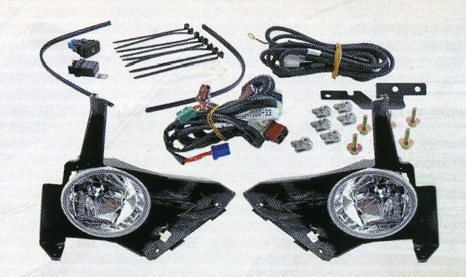 Фары противотуманные, с рамками, с рамками, HONDA CR-V, 2005-2006.